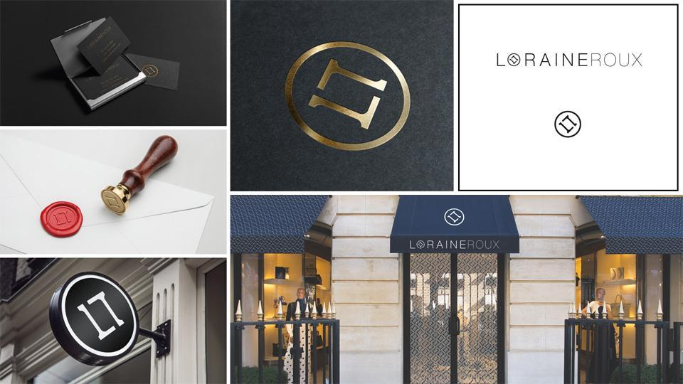 Business Branding for Loraine Roux
