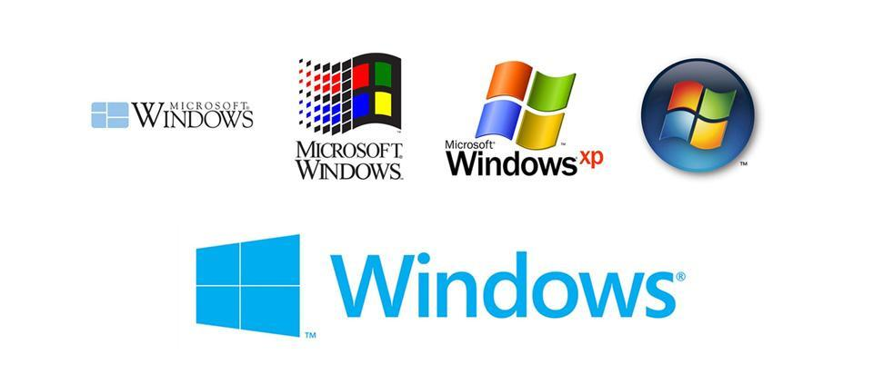 Windows rebranding example