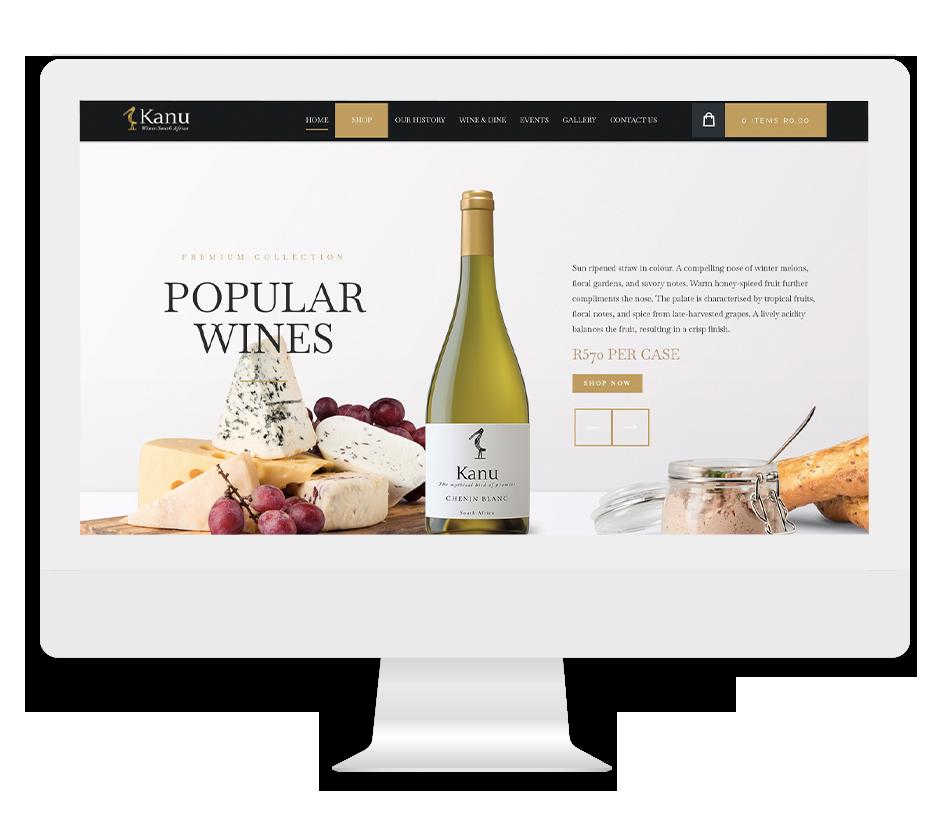 Kanu Wines Website